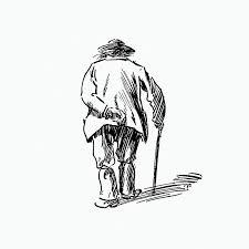 رجل عجوز - الرجل العجوز وإبنه الشاب-قصة العجوز الحكيم