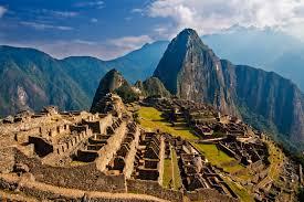 ماتشو بيتشو في بيرو
