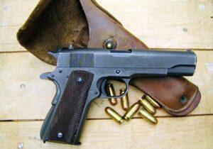مسدس كولت عيار 45