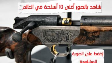أغلى الاسلحة في العالم