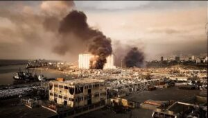 حريق بيروت