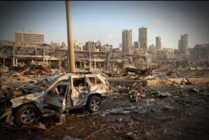 دمار لبنان