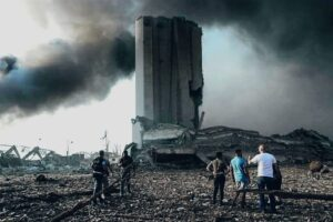 صور مرفأ بيروت