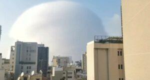 لحظة انفجار مرفأ بيروت