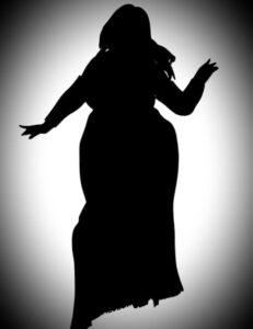 المراة السمينة