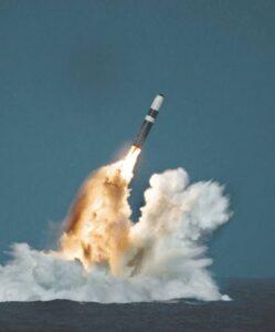 صاروخ نووي للغواصة
