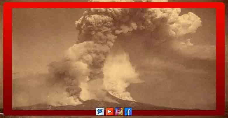 بركان كراكاتوا كارثة حقيقية تهدد وجود البشرية